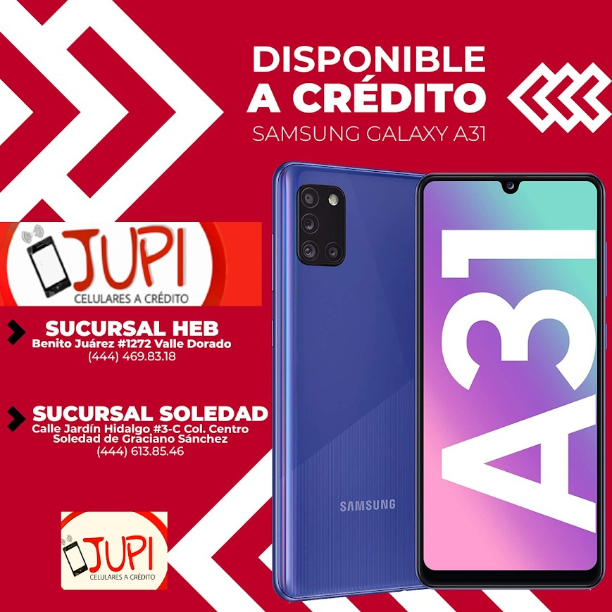 JUPI Celulares a Crédito