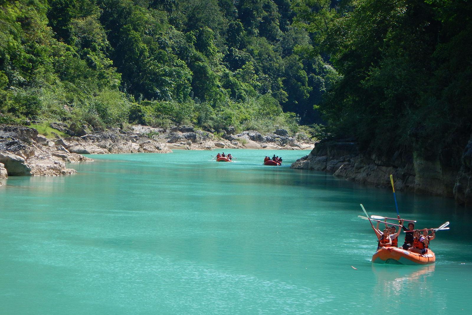 El río Tampaón está en la esplendorosa Huasteca Potosina.