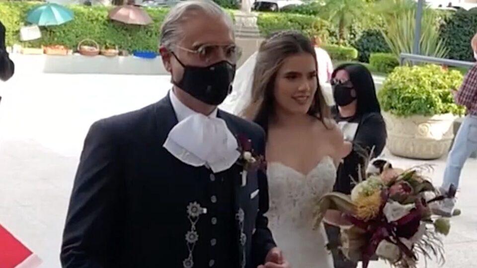 Video Critican a hija de Alejandro Fernández por realizar su boda en plena pandemia – Potosinoticias.com