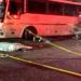 Choque en la México-Pachuca deja al menos 13 muertos