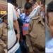 Captan a hombre grabando bajo falda de joven en video de Luisito Comunica